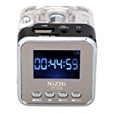 soled TT-028 MP3 Mini Digital Portable Music Player Memory Card USB FM Radio (Black)