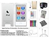 Apple iPod Nano (8th Generation) with Accessories, 16GB - Silver