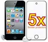 Apple iPod Touch 4th Generation Gen Premium Clear LCD Screen Protector Cover Guard Film, no selection is required