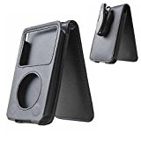 HAL® Leather Case For Apple iPod Video artist 80G and 120G notecase conserving with transferrable track instance Black
