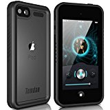 Temdan iPod Touch 5/6 IP68 Waterproof Case with Kickstand Shockproof Case for iPod Touch 5/6