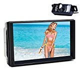 Tmaxlife Android 5.1.1 Lollipop Car MP3 Player In Dash Touch Screen with Navigation Car Stereo Bluetooth Double Din 7 Inch Head Unit Quad Core 1.6GHz 16GB Memory Support WiFi+Reversing Camera