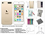 Apple iPod Touch 6th Generation and Accessories, 128GB - Gold