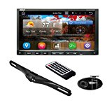 Pyle PLDNANDVR695 - Android Car Stereo Double Din DVR Dash river Backup Camera Kit- DVD, Hands Free Bluetooth USB SD Reader