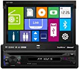 Dual DV714BH In-Dash Single DIN DVD/MP3/USB Car Stereo Receiver w/Built-In Bluetooth and DualMirror Technology (Certified Refurbished)