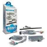 Hyperkin Replacement Lost Cable Set Bundle Kit for Nintendo Wii by Hyperkin