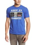Nintendo Men's Keep It Classic T-Shirt, Royal Heather, X-Large