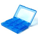 28 in 1 Blue Game Card Case Holder Cartridge Box for Nintendo 3DS Vedio Games