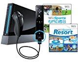 Nintendo Wii Console, Black