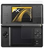 atFoliX Screen endorsement Nintendo DS-Lite Protective flick Screen protector - Set of 3 - FX-Antireflex anti-reflective