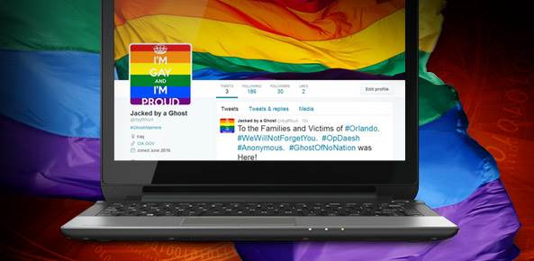 Hacked gay sites
