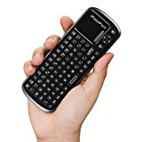 Wireless Mini Keyboard,Elevin(TM) KP-810-19 Mini wireless Keyboard Mouse Touchpad for PC Laptop Tablet