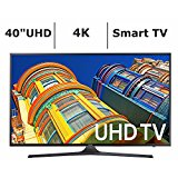 Samsung UN40KU6290 40-Inch 4K 120Hz Ultra HD Smart LED TV (Certified Refurbished)