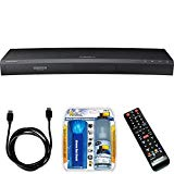 Samsung UBD-K8500 3D Wi-Fi 4K Ultra HD Blu-ray Disc Player Bundle includes UBD-K8500 Ultra HD Blu-ray Player, HDMI to HDMI Cable 6' and Performance TV/LCD Screen Cleaning Kit