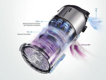 Samsung VU12F40SBBT Motion Sync Bagless Upright Vacuum